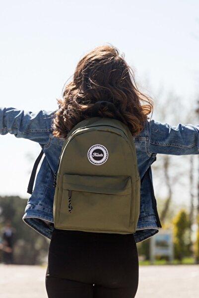 Fudela Zye Khaki Backpack Sırt Çantası