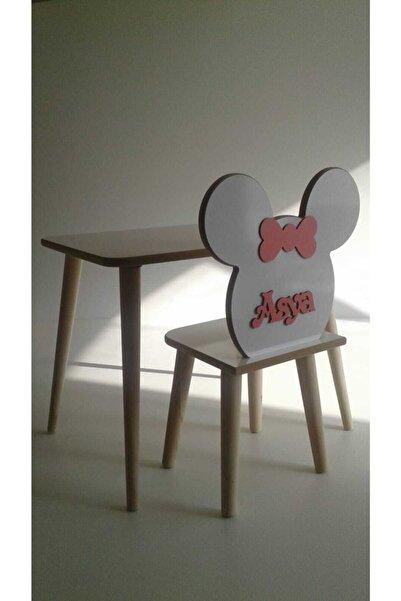 ahşap sarayı Çocuk Masa Sandalye Takımı Yaz-sil Yüzey Mdf Ders Çalışma Masası