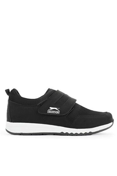 Slazenger Alıson I Sneaker Kadın Ayakkabı Siyah / Beyaz Sa11lk029