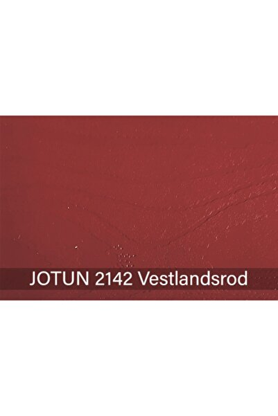 Jotun Vestlandsrod 2142 Demidekk Ultimate Fönster Ahşap Boyası 1 lt