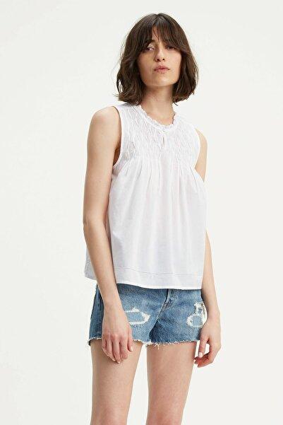 Levi's Kadın Beyaz Bluz