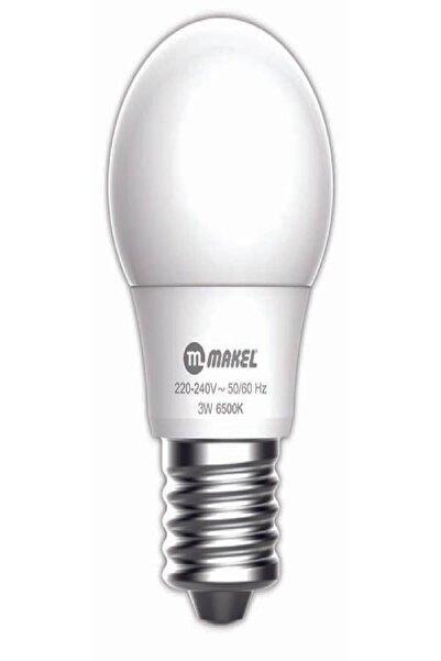 MAKEL 3w Led Ampul 6500k E27 Beyaz Işık