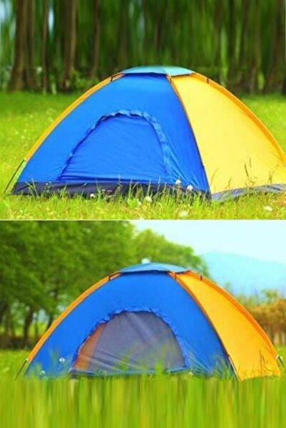 Realindirim Kamp Çadırı Kolay Kurulum 6 Kişilik 220x250x150
