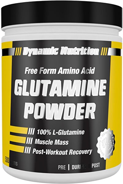 Dynamic Nutrition Dynamic L-glutamine Powder 500 Gr - 100 Porsiyon