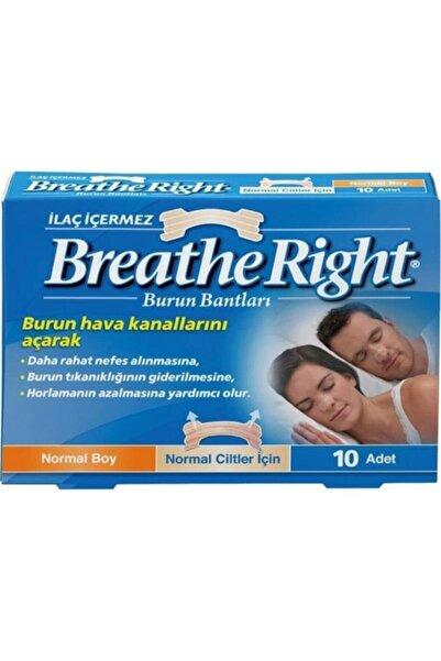 Breathe Right Burun Bandı Klasik 10 Adet 0757145006007