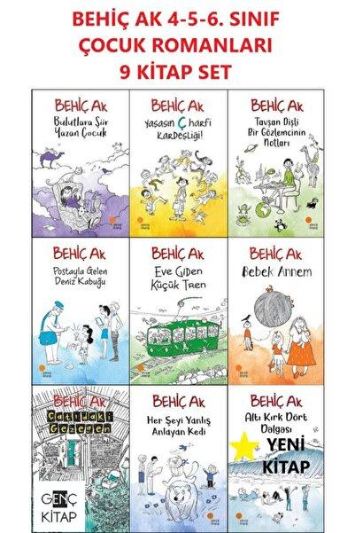 Günışığı Kitaplığı Behiç Ak Çocuk Romanları 4. 5. 6. Sınıflar 9 Kitap Set Postayla Gelen Deniz Kabuğu Bulutlara Şiir