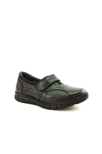 Forelli 29445 Hakiki Deri Kemik Çıkıntısına Özel Ayakkabı Siyah