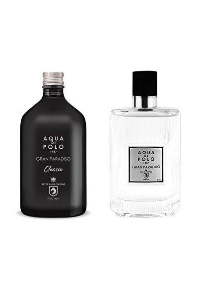 Aqua Di Polo 1987 Gran Paradiso Edp 50 ml Erkek Parfüm Seti 8682367092373