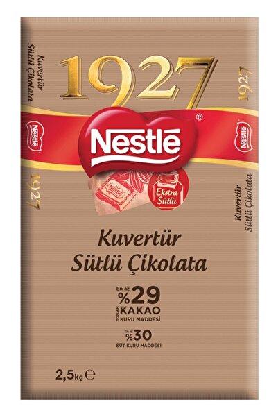 Nestle 1927 Sütlü Kuvertür Çikolata 2.5 Kg