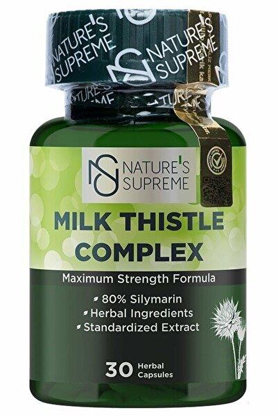 Nature's Supreme Nature's Supreme Milk Thistle Complex 30 Kapsül