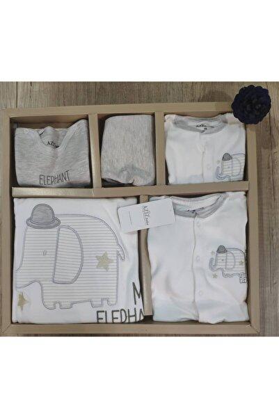 Aziz Bebe Erkek Bebek Beyaz 10lu Hastane Çıkışı