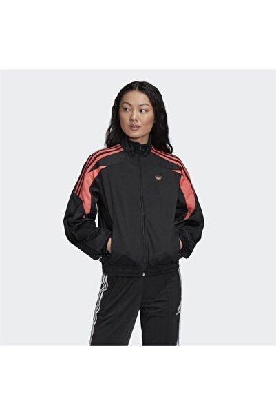 adidas Kadın Siyah Track Top Sweatshirt