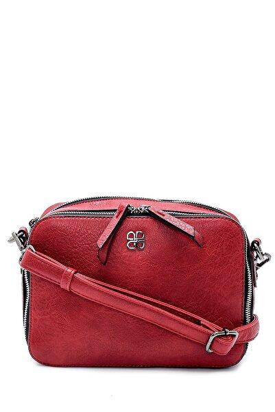 Derimod Kadın Kırmızı Çapraz Çanta