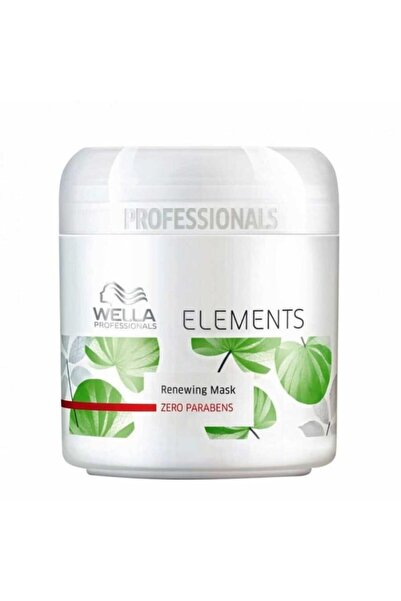 Wella Elements Renewing Yenileyici Maske 150ml 4084500126091