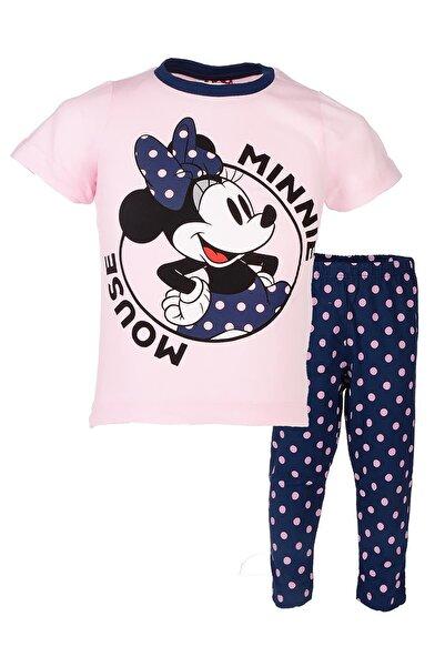 MINNIE Kız Çocuk Pembe Lisanslı Pijama Takımı