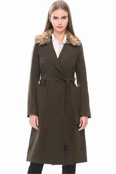 Dewberry Kadın Haki Palto 1160001Z6580
