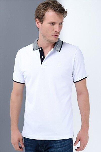 Dewberry Erkek Beyaz T-shirt T8565