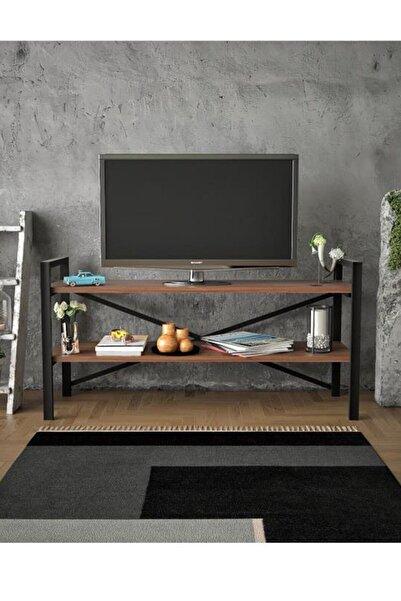 Haus Modüler Artemis Ceviz Televizyon Sehpa-Ünitesi