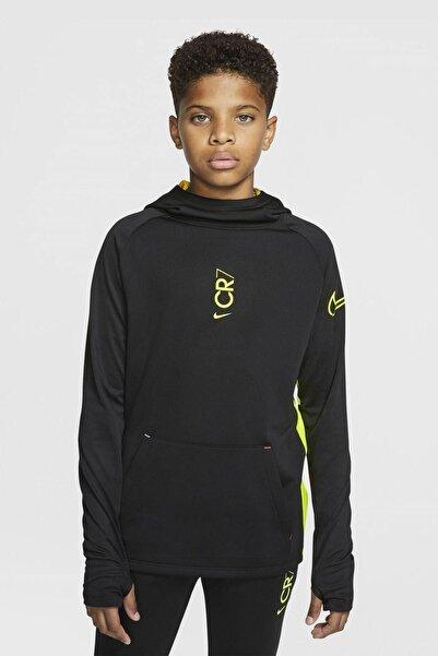 Nike Nıke Cd1119-010 Cr7 B Nk Dry Hoodıe Po Çocuk Uzun Kollu T-shırt