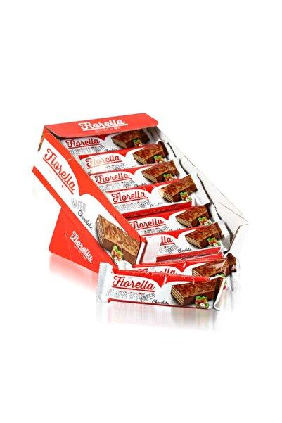 FIORELLA Çikolata Kaplamalı Gofret 30 Gr 24 Adet (1 Kutu)
