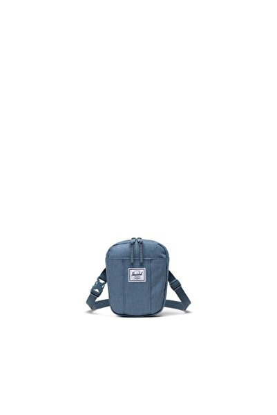 Herschel Supply Co. Herschel Unisex Lacivert Bel Ve Omuz Çantası Cruz Blue Mirage Crosshatch