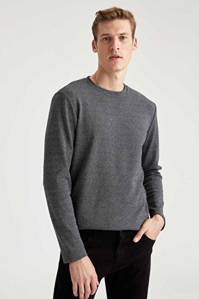 DeFacto Slim Fit Uzun Kollu Tişört