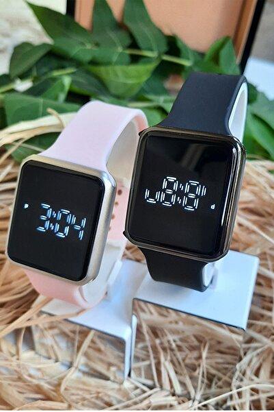 WatchArt Sevgili Saati Led Ekranlı Çift Kol Saatleri Sevgililer Günü Hediyesi Dokunmatik Ekranlı Saat