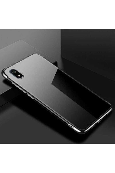 ankacep Xiaomi Redmi 7a Kılıf Dört Köşeli Lazer Silikon Kapak