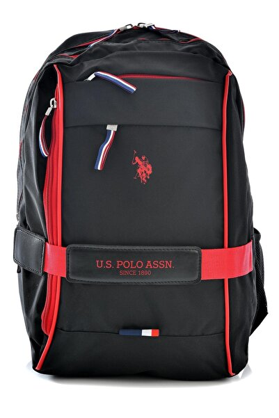 U.S. Polo Assn. 20043 Okul Sırt Çantası Siyah