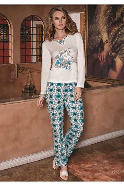 Berrak Kadın Mint Pijama Takımı 228