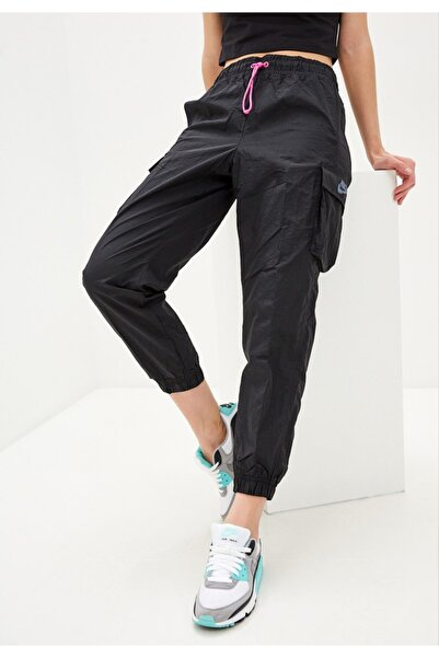 Nike Kadın Siyah Nsw Icon Clash Woven Eşofman Altı Cv9046-010