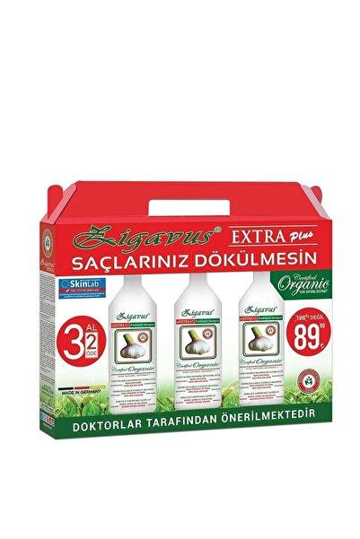 Zigavus Extra Plus Kokusuz Sarımsaklı Şampuan 3 Al 2 Öde