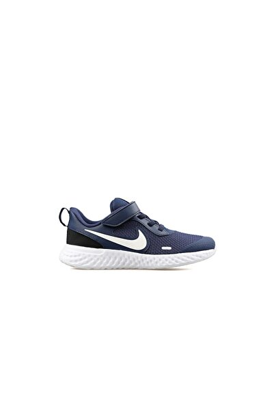 Nike Erkek Çocuk Lacivert Revolutıon 5 Koşu Ayakkabısı