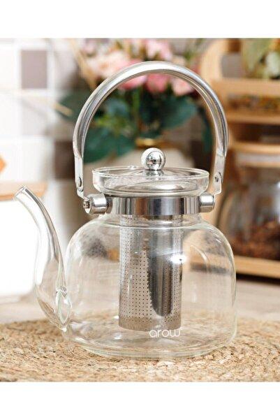 Şahane Pazar Arow Dem Isıya Dayanıklı Cam Çaydanlık 600 ml Tr-1659 Fma00807