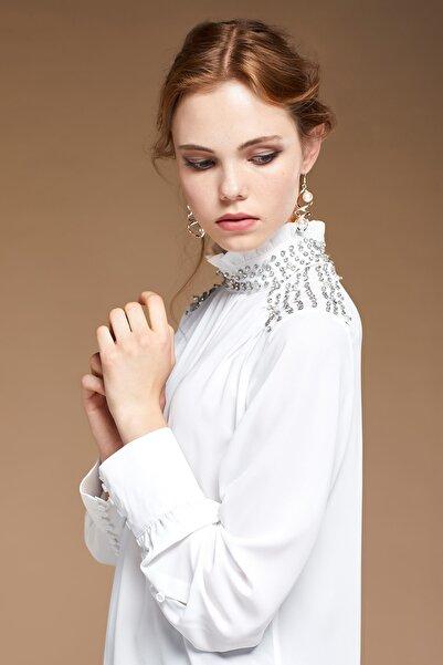 SERPİL Kadın Ekru Bluz 28500
