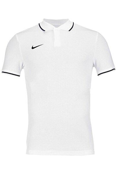 Nike Erkek Beyaz M Polo Tm Club19 Polo Tişört Aj1502-100