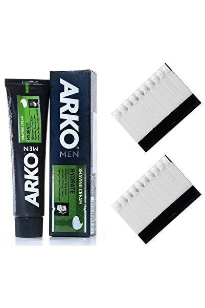 ARKO Hydrate Nemlendiricili Traş Kremi 20 Kan Taşı Hediyeli Set 714050