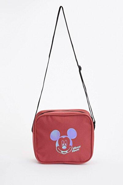 DeFacto Kız Çocuk Mickey Mouse Lisanslı Çanta