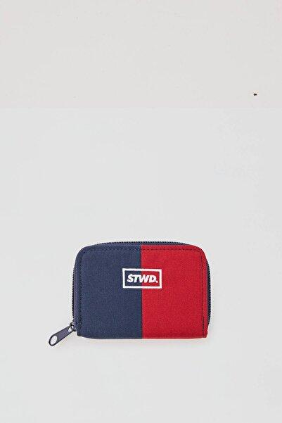 Pull & Bear Kontrast Kırmızı Ve Mavi Cüzdan