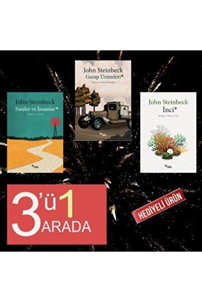Sel Yayınları John Steinbeck 3lü Paket Ençok Okunan 3kitabı (hediyeli)