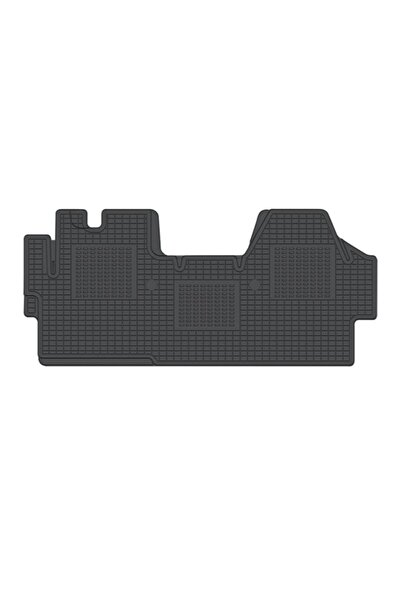 Refref Peugeot Boxer Araç Içi Kauçuk Paspas 2007 2014 Siyah