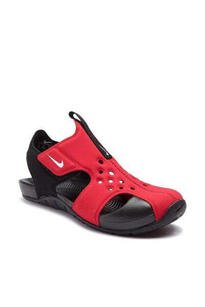 Nike Kids Unisex Bebek Kırmızı Sunray Protect 2 ps Sandalet