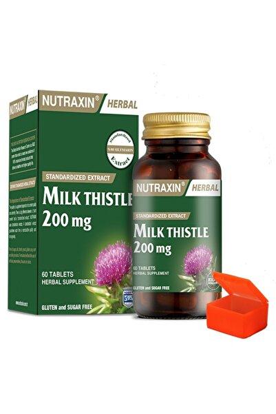 Nutraxin Milk Thistle 200 mg 60 Tablet