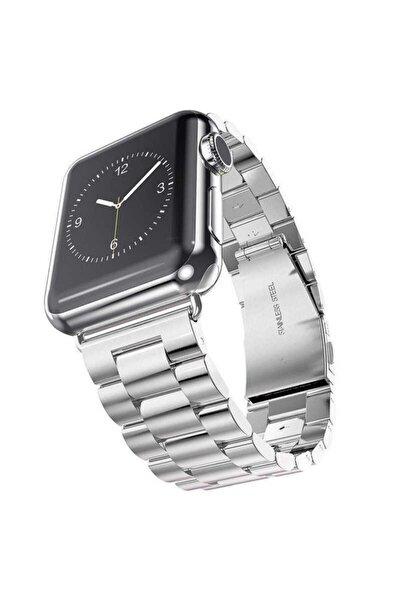 zore Apple Watch 40 Mm Ayarlanabilir Dayanıklı Lüx Metal Kordon