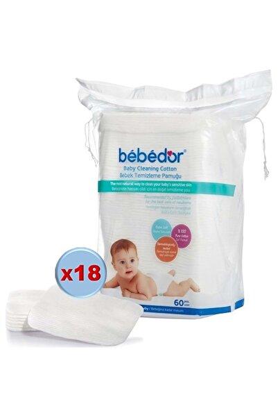Bebedor Bebek Temizleme Pamuğu 1080 Adet (18pk*60)