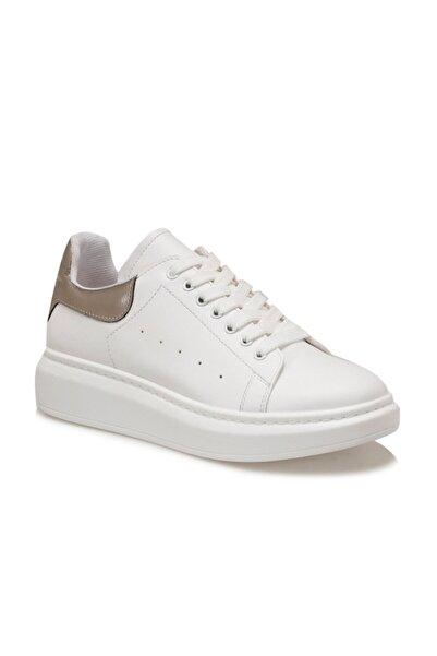 Butigo Kadın Beyaz Adelitas Havuz Taban Sneaker
