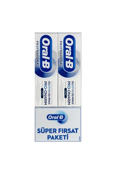 Oral-B G&e Pro Onarım Original Diş Macunu 75 Ml + 75 Ml