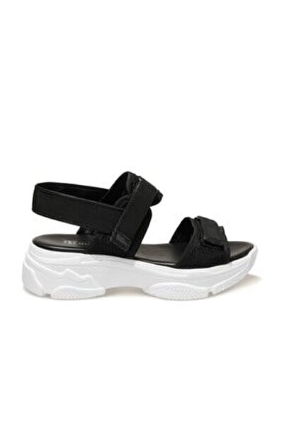 19s-3421fx Siyah Kadın Spor Sandalet