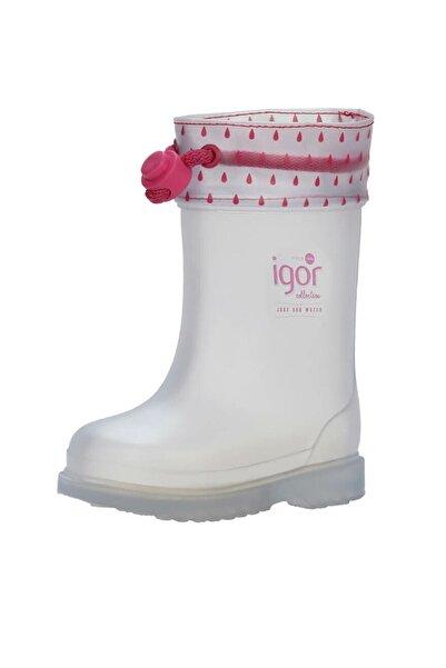 IGOR CHUFO CUELLO TRANSPARENTE Fuşya Kız Çocuk Yağmur Çizmesi 100386382