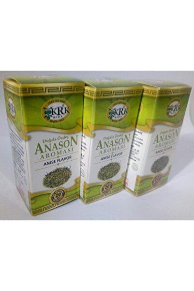 Krk Gıda Anason Aroması Krk 20 Cc 3 Adet Son Tüketim 1 Aralık 2024